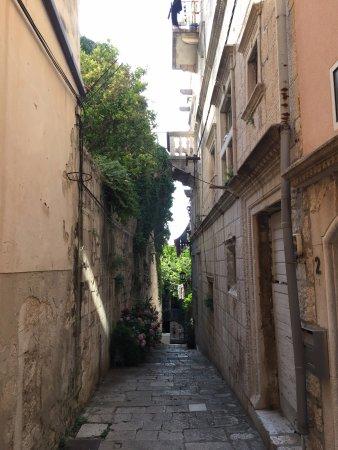 Korcula Island, Croatia: city streets