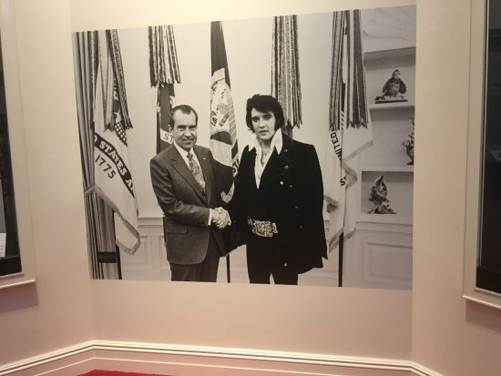 Yorba Linda, CA: The King meets the President