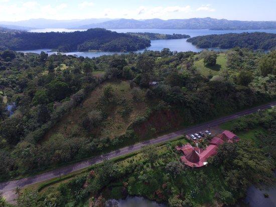 Restaurante Caballo Negro: View from above