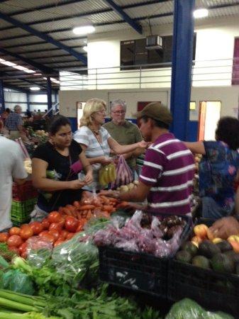 Restaurante Caballo Negro: Monika at the Farmer's Market