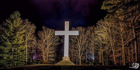 Sewanee, Теннесси: This was taken by my friend the night my wife passed... She loved this place !