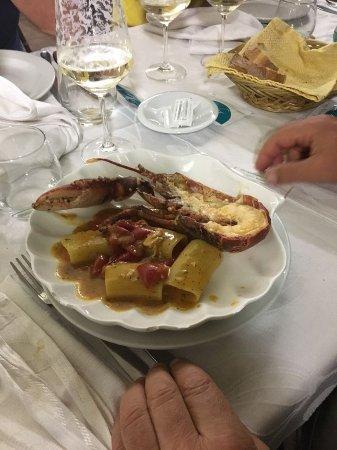 Massafra, Italia: Paccheri all'astice