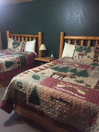 Marcell, MN: Double queen beds