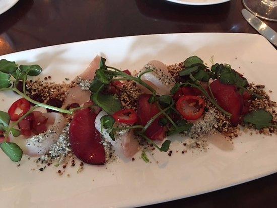 Fruition Restaurant: Cobia Crudo