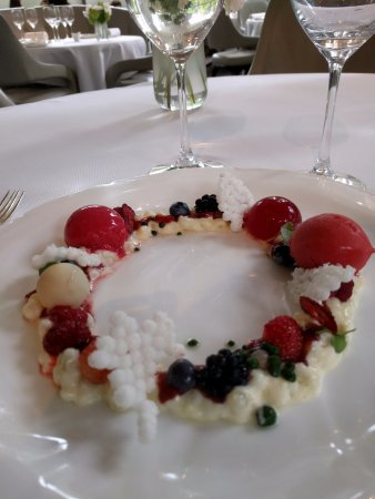 Jean Georges: One of the dessert tastings (even more complex than it looks)