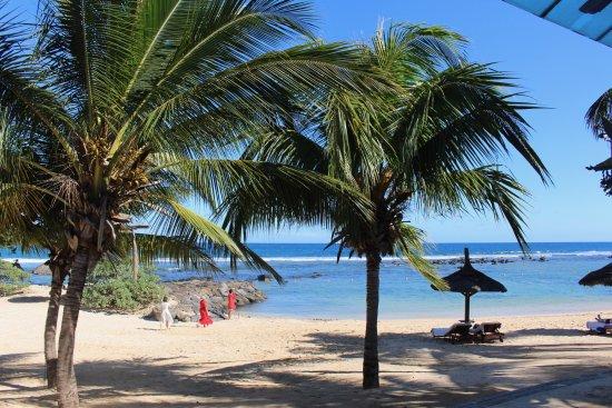 InterContinental Mauritius Resort Balaclava Fort : View from Segala Restaurant