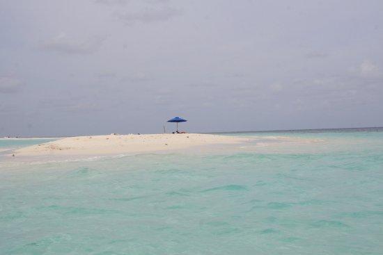 North Ari Atoll: Sand bank trip option.
