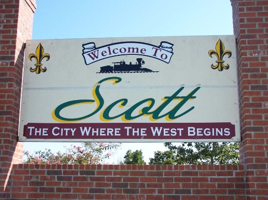 Scott, LA home of the boudin festival