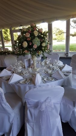 Berkswell, UK: Stunning table setting