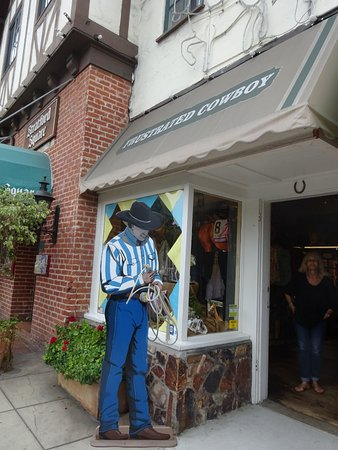 Del Mar, CA: Cowboy Outside Shop