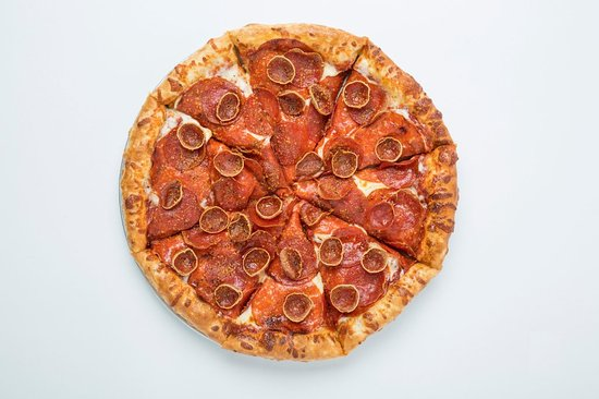 Edmond, OK: It's a Pepperonipalooza! With Deli-Style Pepperoni, Cup & Crisp Pepperoni, and Traditional.