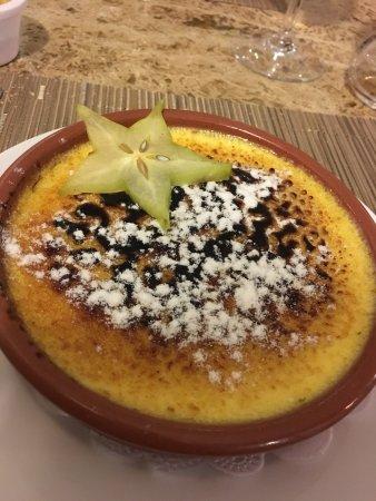 Restaurant Abri Des Flots : crème brûlée vanille / lavande, un délice