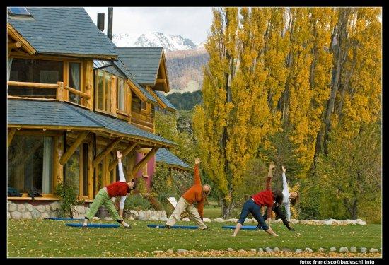 Estancia Peuma Hue: yoga at Peuma Hue, a must!