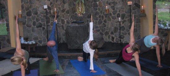 Estancia Peuma Hue: yoga at the temple