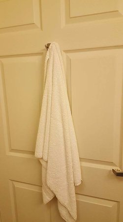 Country Inn & Suites By Carlson, Carlisle: dirty towel left in bathroom