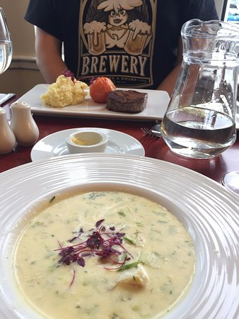 Best Western The Queens Hotel : Cullen skink at The Queen's Hotel