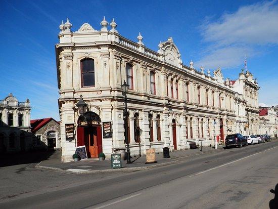 Oamaru, Nuova Zelanda: Main street