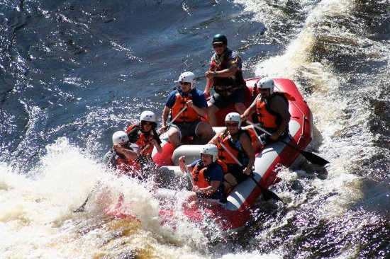 Dexter, NY: Whitewater rafting on the Black River with B.O.B. Rafting!