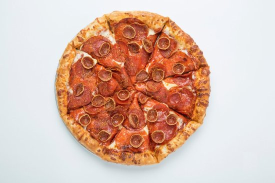 Norman, Оклахома: It's a Pepperonipalooza! With Deli-Style Pepperoni, Cup & Crisp Pepperoni, and Traditional.