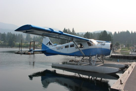 Sechelt, Kanada: One of the seaplanes at Sunshine Coast Air