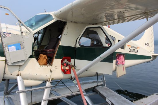 Sechelt, Kanada: This is the seaplane we flew in