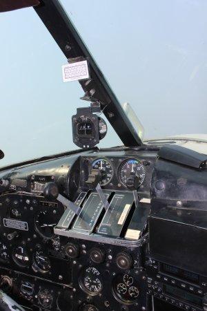 Sechelt, แคนาดา: Seaplane Cockpit