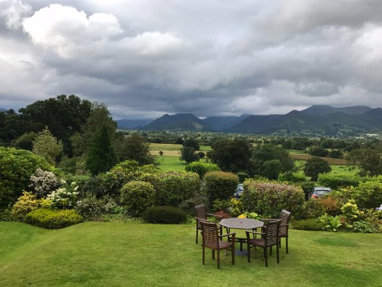 Castlerigg, UK: The view from the hotel