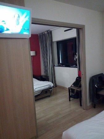 Μπλανιάκ, Γαλλία: Visuale da un letto della camera all'altro letto