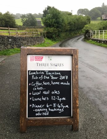 Little Langdale, UK: Outside the hotel