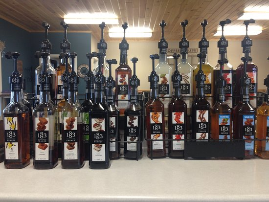 Wadena, MN: Our amazing line of Maison Routin 1883 French Syrups