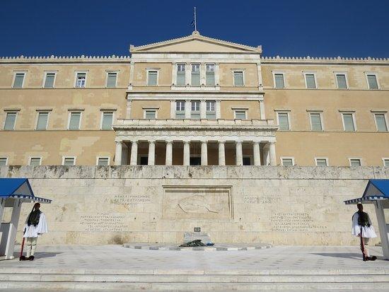 Parlamento ellenico,è il parlamento della Grecia, con sede in piazza  Syntagma ad Atene. - Foto di Atene, Attica - Tripadvisor