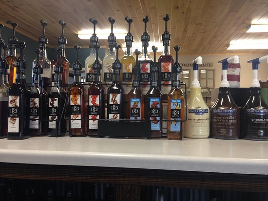 Wadena, MN: Delicious Maison Routin 1883 Syrups and Ghirardelli Sauces