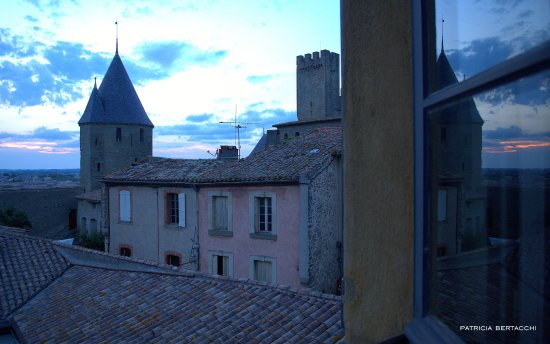 catedral de san nazario y san celso picture of best western hotel le donjon carcassonne. Black Bedroom Furniture Sets. Home Design Ideas