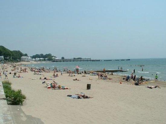 Crystal Beach, كندا: Sandy Beach