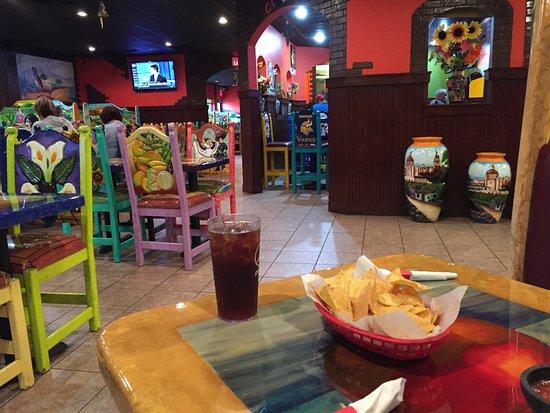 Brainerd, Миннесота: inside the restaurant