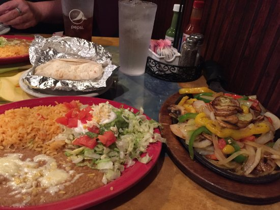 Brainerd, Миннесота: vegetarian fajitas