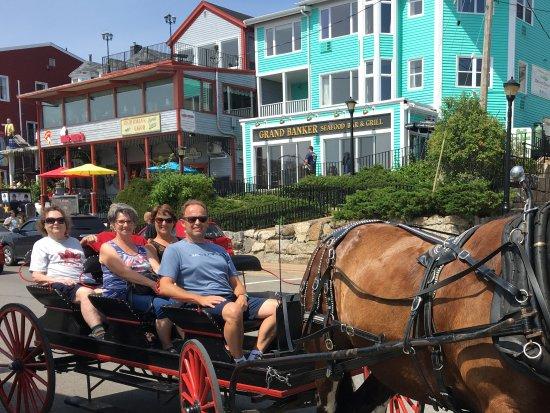 Lunenburg, Kanada: Horse and carriage tour!