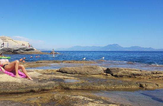 Bagni Rocce Verdi Napoli : Photo7.jpg foto di baia delle rocce verdi villa fattorusso napoli