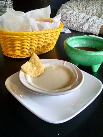 West Des Moines, IA: Free chips and salsa. Recommend the queso.