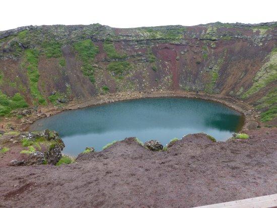 Selfoss, Islande : Kerid Crater