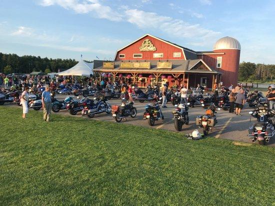 Lancaster, Массачусетс: Street view during bike night