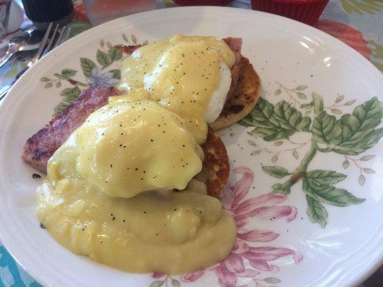Wareham, Массачусетс: Eggs Benedict