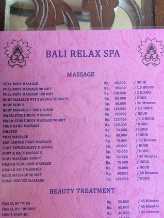 Bali Relax Spa