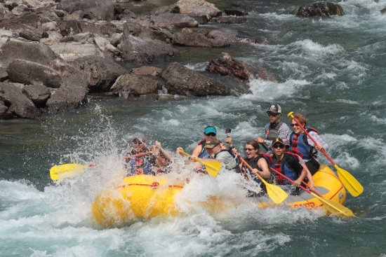West Glacier, MT: Bonecrusher- Flathead River