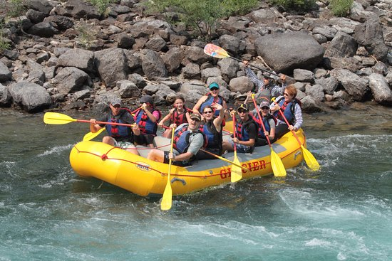 West Glacier, MT: Rafting Flathead River