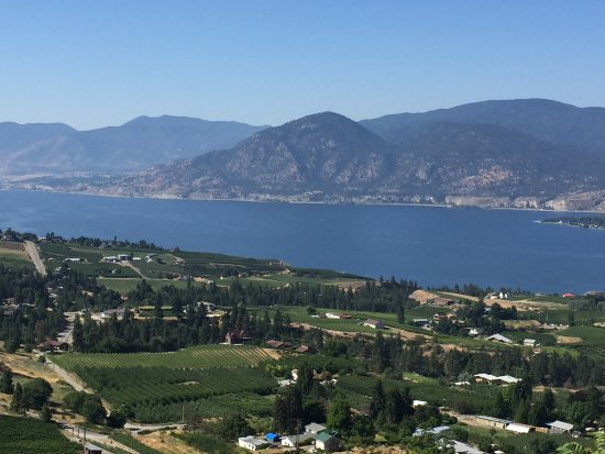 Naramata, Canada: View from Kettle Valley Trail