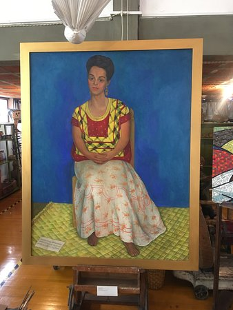 Museo Estudio Diego Rivera y Frida Kahlo: Portrait of Frida Kahlo by Diego Rivera