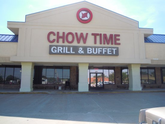 Outside Picture Of The Front Of The Restaurant Chow Time Grill And