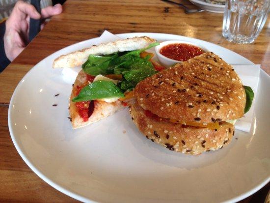 Ringwood, Australia: pumpkin, brie turkish bread