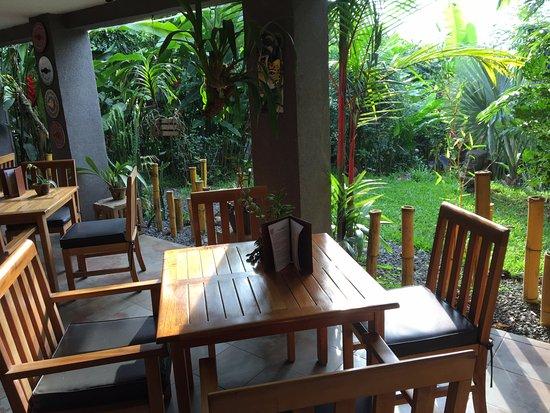 Pura Vida Hotel: dining/breakfast area